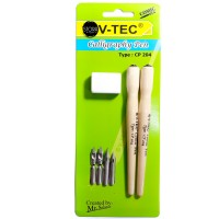V-Tec Comic Calligraphy Manga Komik Pen Tools Set VTEC (CP-204)
