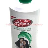 Lifebuoy Strong & Shiny Shampoo Membuat Rambut Sehat & Kuat Shampo 680