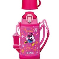 Disney Japan Minnie Mouse THERMOS 2WAY Water Bottle 0.63L / 0.6L