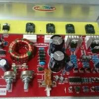 Rangkaian Kit Audio Mobil Super Bass SUB+POWER+TONE CONTROL PLATINUM