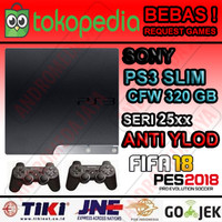 PS3 PS 3 SONY Playstation 3 Slim 320GB CFW Seri 25XX