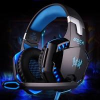 Harga kotion each g2000 gaming headset super bass led   Pembandingharga.com