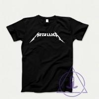 Jual baju pakaian kaos band metallica new logo Murah