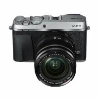 Harga kredit fujifilm x e3 mirrorless with 18 55mm black silver | Pembandingharga.com
