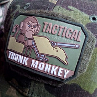 TACTICAL TRUNK MONKEY Rubber Patch