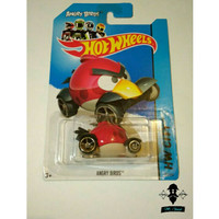 Diecast Hot Wheels Angry Birds Red Bird