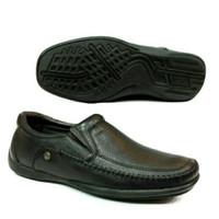 sepatu kulit carvil Tyrone .black original