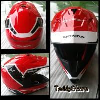 Helm Helmet Trail Cross Motocross Cross Honda CRF 150 150L Racing Red