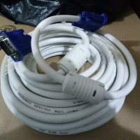 kabel vga 10m original / cable vga male To male 10 meter bagus tebal
