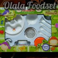 Jual Peralatan Makan Feeding Set Bayi BPA Free Merk Kiddy Jumbo Besar Murah Murah