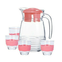 luminarc coastline pitcher Drink set 5 pcs