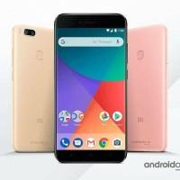 Hp Xiomi Mi A1 (Xiaomi Mi Ram 4/64GB) - Black Gold & Rose-Xiomi 4G LTE