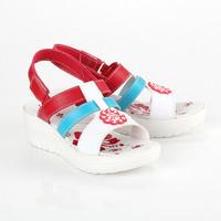 79GLRE Sepatu Sandal Sendal Wedges Anak Perempuan Cewek kasual