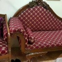 Sofa kursi ruang tamu jati asli bagus murah