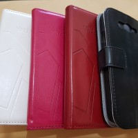 Leather Case Samsung Grand Neo / Flipcover Dompet Samsung Grand Duos