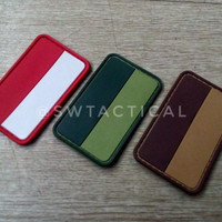 Indonesian Flag Rubber Patch