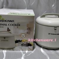 YOSHIKAWA THERMAL MAGIC COOKER YXM - 80 / PANCI AJAIB 8 L GOJEK ONLY