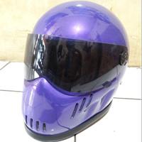 Helm Cakil Bogo Robot like Bandit XXR NEW Cafe Racer Caferacer