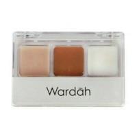Wardah Double Function Kit ( Base Eyeshadow dan 2 warna Concealer )