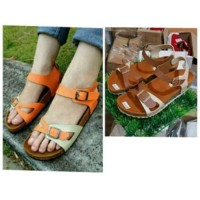 Sandal  Sendal  Sepatu Tali Santai Carvil T2909