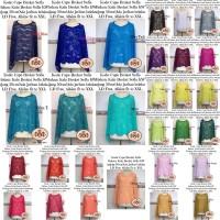 Cape Lace Brukat Brokat Kebaya Atasan Blouse Outerwear Batwing Allsize