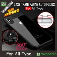 Case Auto Focus Transparan ALL TYPE iPhone Oppo Samsung Vivo Xiaomi