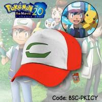 Jual [ANIME] Topi Fullprint Ash Ketchum Pokemon The Movie 20 I Choose You! Murah