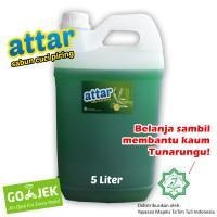 KHUSUS Gosend / Grab -Sabun Cuci Piring ATTAR 5 Liter