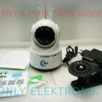 Ip Camera wireless wifi kamera cctv pengawas memory card P2p full hd