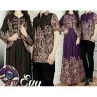 FASHION : couple evy cardi baju pasangan sarimbit batik couple evyta