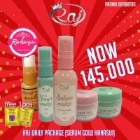 Raj Skincare dan Serum Gold Hanasui original BPOM