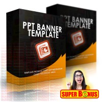 PPT BANNER Template Promosi Keren Dahsyat Untuk Bisnis Anda