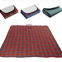 [3 warna] Matras piknik foldable Tikar piknik tikar tamasya tikar lipa