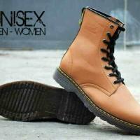 Sepatu Kulit Couple Unisex Dr. Martens (Docmart) Boot Grade Original N