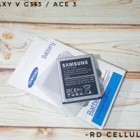 Baterai Batre Samsung Ace 3 S7270 / Galaxy V G313 Original 100%