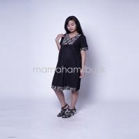 Harga baju hamil dress menyusui etnik krah v tiffani dro   antitipu.com
