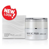 MAGIC PLUS White Cream Premium DIJAMIN100% ORIGINAL LEJEL HOMESHOPPING