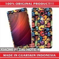 Original Xiaomi Redmi Note 4 Skin / Garskin for Case - Doodle