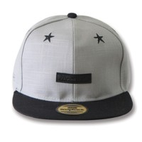 Snapback Topi Hiphop Dewasa Fashion STAR Grey (SBS70339_GRY)
