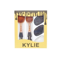 Jual KYLIE SPONGE TRANSPARANT + KUAS OVAL 2 UKURAN SET. MAKEUP BRUSH SET Murah
