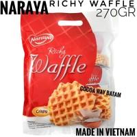 Richy Egg Butter Waffles 270gr