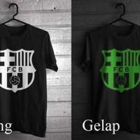 Promo Kaos Barca Glow In The Dark FC Barca Blaugrana cc