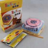 Knitting Flower Loom - Alat Rajut Motif Aneka Bunga (9pcs)