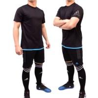 Jual baju kaos stelan setelan jersey futsal sepak bola adidas bale Murah