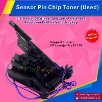 Toner Sensor Printer HP Laserjet P1102, Sensor Pin Chip Toner HP p1102