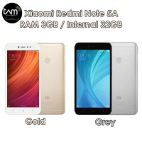 Hp Xiomi Redmi Note 5A Prime(Xiaomi Mi 5 A Ram 3/32GB)-TAM-Gold & Grey