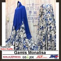 baju muslimah gamis syari / dress monalisa #19