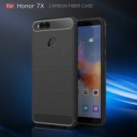 FIBER LINE Huawei Honor 7 X 7X spigen like soft case casing hp carbon