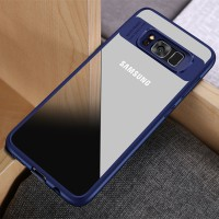 CLEAR AUTO FOCUS Samsung S8 Edge - S8 Plus case back cover transparan