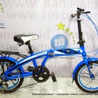 Ongkir Murah 16in Exotic ET2625 6Sp Sepeda Lipat  Sumatera-Jawa-Bali